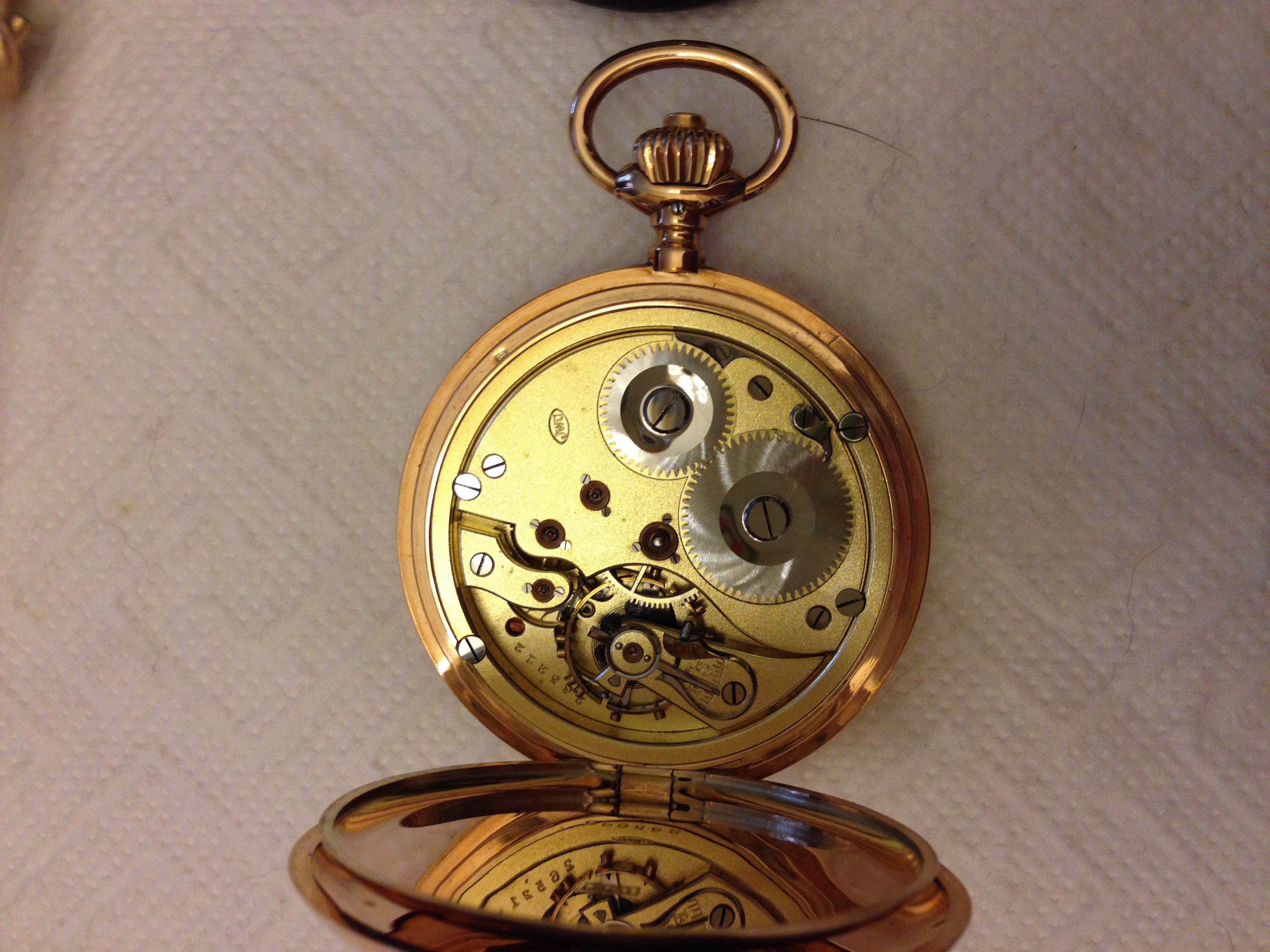 iwc taschenuhr um 1900